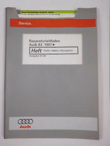 Reparaturleitfaden Audi A3 8L Radio Navigation Telefon Diagnose Funktionsübersi.
