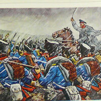 GERMAN History 1648-1969 Picture Card Album w/96 pics Napoleon French Revolution