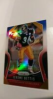 2019 Panini Prizm Jerome Bettis Red White Blue PRIZM PARALLEL CARD #285 STEELERS