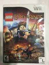 LEGO The Lord of the Rings Wii Game Nintendo