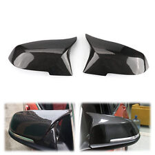 Pair Real Carbon Fiber Replace Side Mirror Cover Cap for BMW F30 F31 3-Series