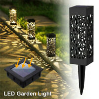 6 Pack Solar Powered Garden Light Patio Outdoor Pathway Led Landscape Lawn Lamp
