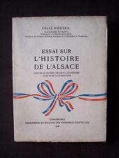 Essai sur l'histoire de l'Alsace