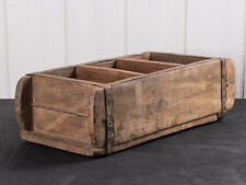 IB Laursen Ziegelform 3-fach UNIKA aus Holz Unikat Aufbewahrung Box