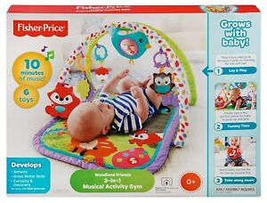 Fisher Price 3 in 1 Musical Activity Gym with Music & Sounds