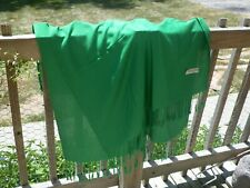Emerald Green Scarf Pashmina-Silk Blend Shawl Table Runner Cloth - Free Shipping