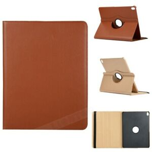 For iPad 10.2 8th 9th Generation Smart Flip Case Leather 360 Rotate Stand Cover
