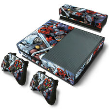 Dead Pool Xbox One Protective Skin Sticker Set Console and 2 Controllers - #0685