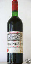 vin Bordeaux Chateau PAVIE DECESSE 1975 Saint Emilion GCC bouteille 75cl wine