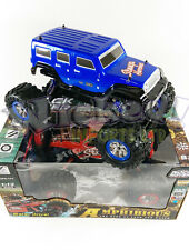 4X4 4WD MONSTER TRUCK WATERPROOF REMOTE RADIO CONTROL JEEP HUMMER ROCK CRAWLER