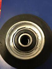 70568201P 2 Black Tumbler Roller For Huebsch, Speed Queen, Ipso Dryer