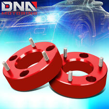 """FOR 2007-2017 SILVERADO/SIERRA 2.5""""FRONT SPACER HIGH MOUNT LEVELING LIFT KIT RED"""