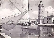 RIMINI - Porto Canale e Faro 1964