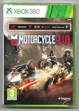 Motorcycle club - Neuf scellé sous blister d'origine Jeu XBOX 360