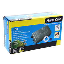 Aqua One Battery Air Pump 150 - Splash Resistant Fishing Trip Portable Fish Bait