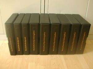 Bund Berlin Spezialausgaben 1985-1995 in 9 Ringbindern mit Schuber / Krüger