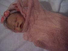 ~GoRgEoUs ULtRa ShEeR GaUzE PhOtOgRaPy WrAp FoR BaBy Or ReBoRn DoLL~ DUSTY MAUVE