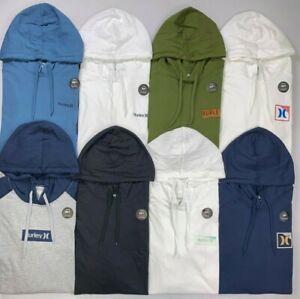 Men's Hurley Soft Cotton Hooded Long Sleeve Shirt