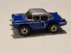Micro Machines Classic Car Cadillac MK IV Blue silver Top