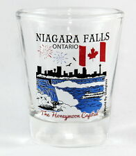 NIAGARA FALLS ONTARIO CANADA GREAT CANADIAN CITIES COLLECTION SHOT GLASS