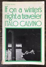 If On A Winter's Night A Traveler, Italo Calvino (1981 English Printing)