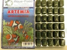 Premium Frozen Fish Food 5 x 100g packs-Brineshrimp + Spirulina --FREE P&P