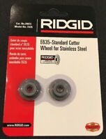 Pack of 2 x Ridgid E635 / 29973 Tube and Pipe Cutter Wheels Stainless Steel SS