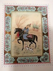 CINA (China): Old and very fine Chinese miniature painting