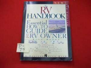THE RV HANDBOOK- TRAILER LIFE BOOK BY BILL ESTES-3rd EDITION-EXCELLENT REFERENCE