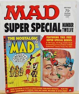 Vintage Mad Super Special Number Twelve E.C. Pub. - 1973 $0.75 w/Insert #2
