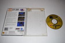 SimCity 2000 Sega Saturn Video Game Disc w/ Case