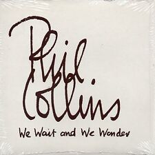 CD Single Phil COLLINS We wait and wonder PROMO 1-track CARD SLEEVE NEW SEALED
