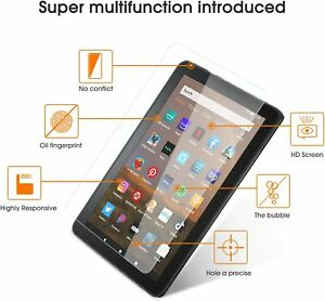 Screen Protector Real Tempered Glass For Amazon Kindle Fire HD 7 10 8 All 2020