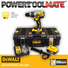 Dewalt DCD996P2 18V XR 3-Speed Brushless Hammer Combi Drill with 2 x 5.0Ah Batts
