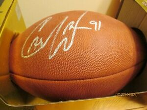 GREAT NFL GAME FOOTBALL SIGNED STILL IN BOX