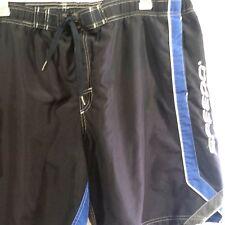 SPEEDO Men's 48 in waist Black Board Shorts Swim Trunks