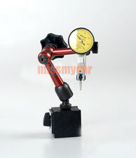 Dial Test Indicator 001mm Accuracy And Magnetic Base For Measuring Lathe Tools