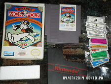 Nintendo NES Game: Monopoly w/ Box (FREE Shipping when you buy 10 games)