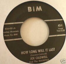 HEAR R&B DOO WOP Joe Caldwell Felix Lark Majestics BIM