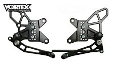 VORTEX V2 Rearsets - 09-12 Kawasaki ZX6 Rear-Sets ZX6R 2009 2010 2011 2012 RS415