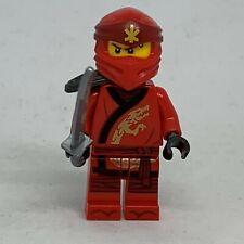 New - Ninjago Lego Minifigure - Kai - Secrets of the Forbidden Spinjitzu njo526