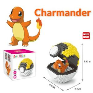 Nintendo Pokemon Charmander Pokeball 417pcs Nano Blocks