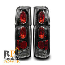 Black/Clear Altezza Tail Lights Pair ( Fits 86-97 Nissan 720 , D21 , Pickup )
