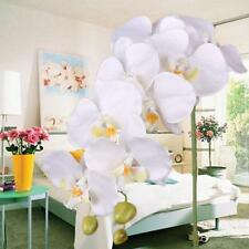 Artificial Butterfly Orchid Flowers Bouquet Phalaenopsis Wedding Decor White MO