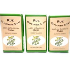 Glycerine Soap Rue by Murray & Lanman 3pk