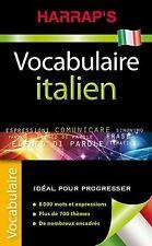 Vocabulaire italien de Harrap   Livre   état très bon