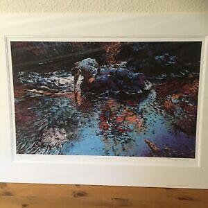 "Rolf Harris Limited Edition Print ""Long Ago and Far Awayl"""