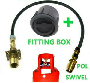 2 metres LPG Filling set with SWIVEL POL ADAPTER FOR PROPANE  CYLINDER MOTORHOME