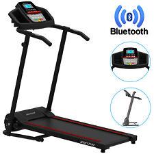 1.0HP Folding Treadmill Electric Motorized Running Machine Cardio Smart Home Gym