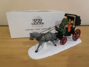 Dept 56 CIC Accessory - Central Park Carriage - Free Shipping